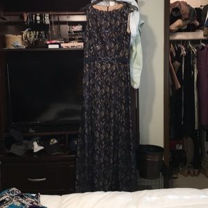 Evening gown & shoes
